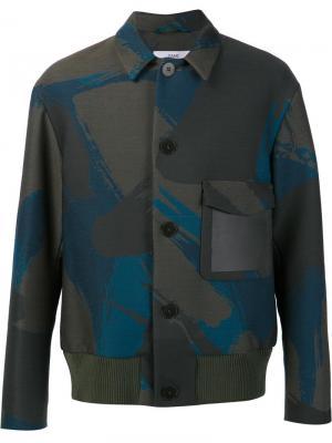 Куртка Blouson Oamc. Цвет: зелёный