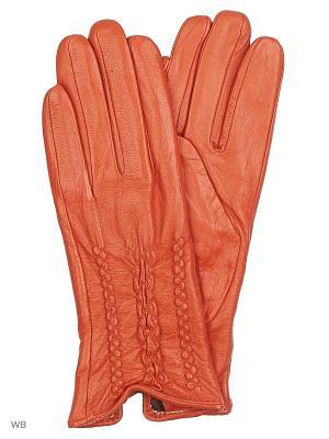 Перчатки Pur. Цвет: рыжий