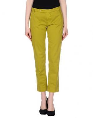Повседневные брюки TRUE NYC.. Цвет: кислотно-зеленый