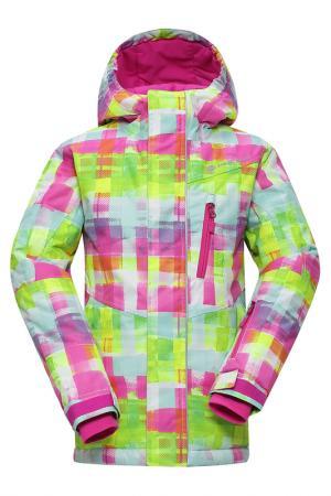 Куртка Alpine Pro. Цвет: pink, green, white