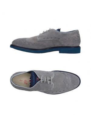 Обувь на шнурках D'ACQUASPARTA. Цвет: светло-серый