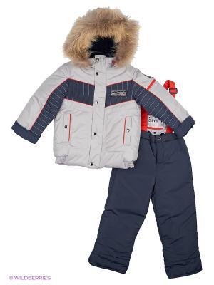 Комплекты одежды для малышей Cleverly. Цвет: серый, красный, синий