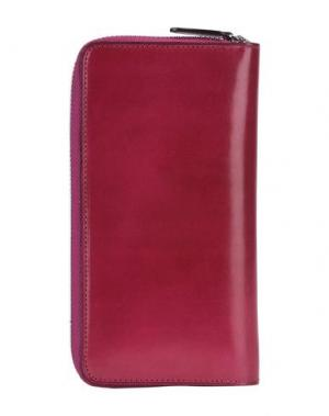 Бумажник IL BUSSETTO. Цвет: пурпурный