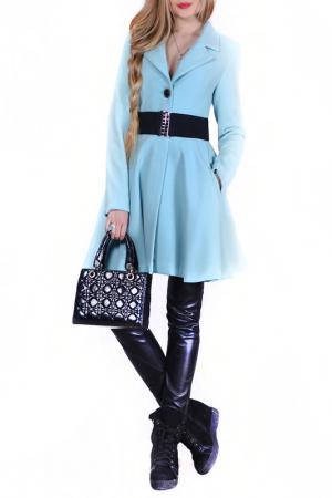 Пальто FRANCESCA LUCINI. Цвет: мятный