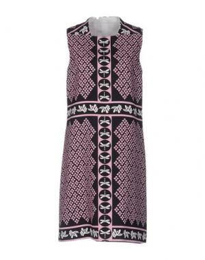 Короткое платье AQUILANO-RIMONDI. Цвет: розовый