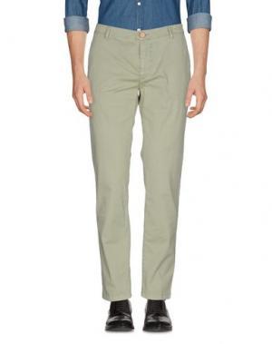 Повседневные брюки YAN SIMMON. Цвет: светло-зеленый