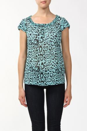 Блузка Sabra. Цвет: зеленый
