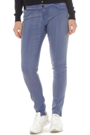 Леггинсы Trussardi Jeans. Цвет: голубой