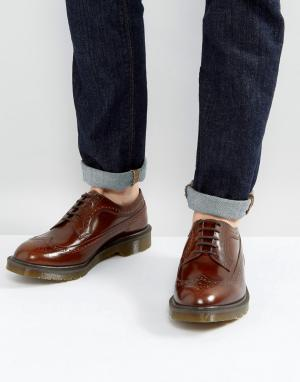 Dr Martens Броги Made In England 3989 Boanil. Цвет: рыжий