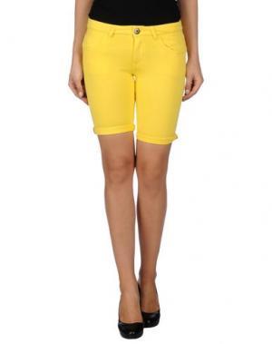 Бермуды PRAIO. Цвет: желтый