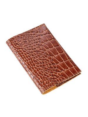 Обложка для паспорта Timeless. Цвет: коричневый