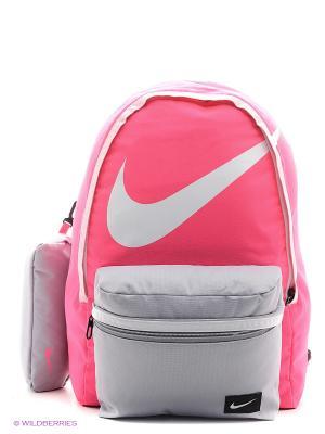 Рюкзак NIKE YOUNG ATHLETES HALFDAY BT. Цвет: розовый, белый, светло-серый