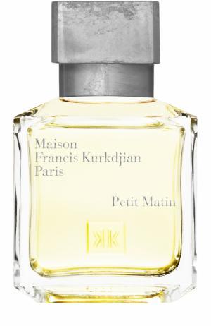 Парфюмерная вода Petit Matin Maison Francis Kurkdjian. Цвет: бесцветный