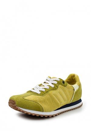 Кроссовки Celio. Цвет: желтый