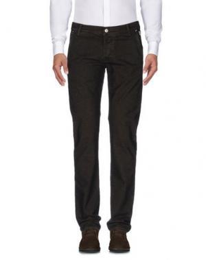 Повседневные брюки ROŸ ROGER'S. Цвет: темно-коричневый