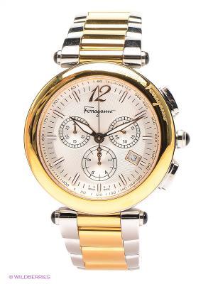 Часы Salvatore Ferragamo. Цвет: серебристый, золотистый