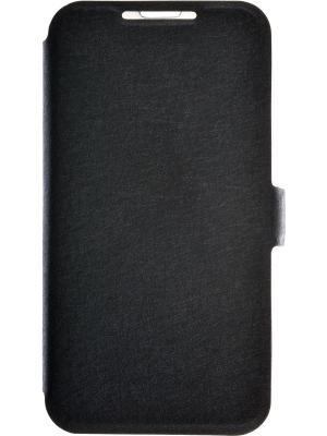 Чехол-книжка для Micromax D303 PRIME book. Цвет: черный