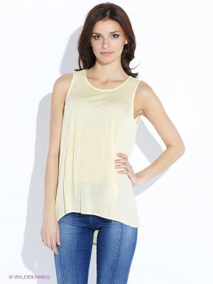 Туника Vero moda. Цвет: желтый