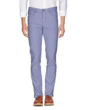 Повседневные брюки BARBATI. Цвет: лазурный