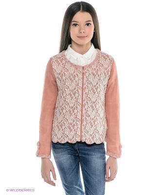 Жакет Wojcik. Цвет: бледно-розовый, молочный