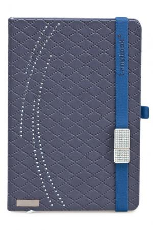 Книга записная с флешкой 115464 Lanybook. Цвет: синий