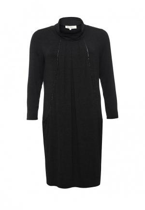 Платье Bassini. Цвет: черный