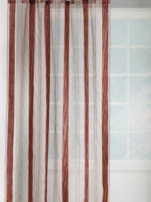 Тюль Букле DAILY by TOGAS. Цвет: бордовый, коричневый