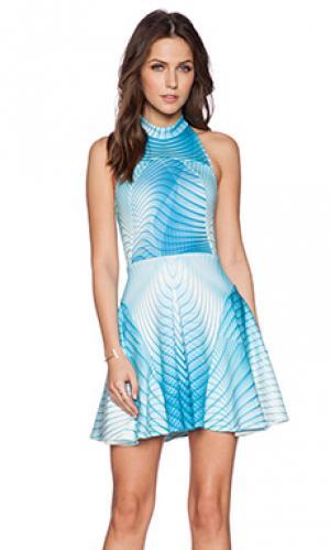 Мини платье aurora Ringuet. Цвет: синий