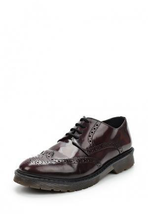 Ботинки Marina Seval. Цвет: бордовый