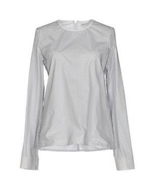 Блузка WANDA NYLON. Цвет: белый