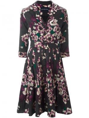 Платье Audrey Samantha Sung. Цвет: многоцветный