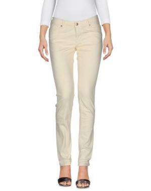 Джинсовые брюки TRUE NYC.. Цвет: светло-желтый