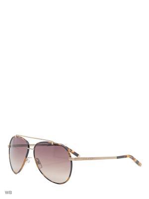 Солнцезащитные очки DQ 0087 55F Dsquared2. Цвет: коричневый, золотистый