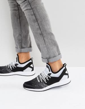 Cayler & Sons Трикотажные кроссовки с эффектом деграде. Цвет: белый