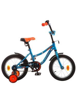 Велосипед 14 NEPTUNE NOVATRACK. Цвет: синий