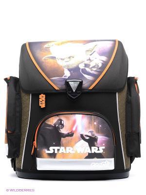Ранец Star Wars Scooli. Цвет: черный, оранжевый