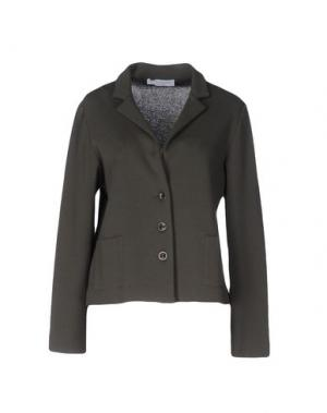 Пиджак AMINA RUBINACCI. Цвет: зеленый-милитари