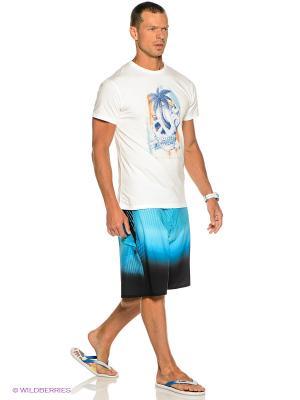 Бордшорты Fluid X BILLABONG. Цвет: голубой, черный