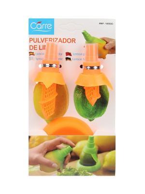 Пульверизатор для цитрусовых (2 насадки, подставка) Migura. Цвет: оранжевый