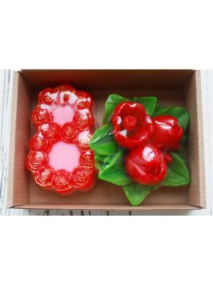 Набор 8 марта и тюльпаны Entourage. Цвет: розовый