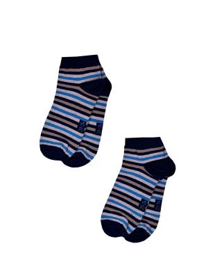 Носки детские,комплект 2шт Malerba. Цвет: синий