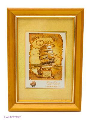 Фоторамка деревянная 10Х15 VELD-CO. Цвет: коричневый