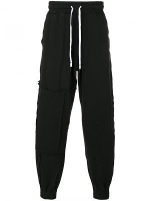 Спортивные брюки Aponysus Liam Hodges. Цвет: чёрный