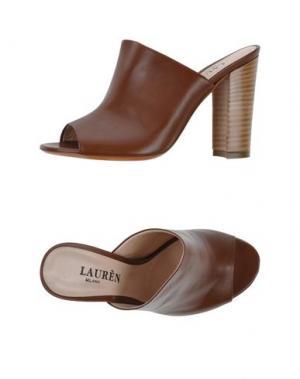 Сандалии LAURÈN. Цвет: коричневый