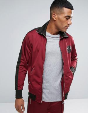 Diesel Спортивная куртка S-TRUCK. Цвет: красный