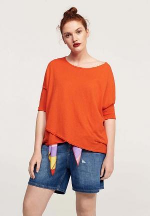 Джемпер Violeta by Mango. Цвет: оранжевый