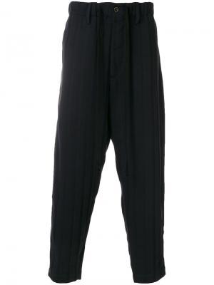 Укороченные брюки Uma Wang. Цвет: синий