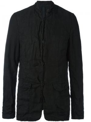 Пиджак с накладными карманами Poème Bohémien. Цвет: чёрный
