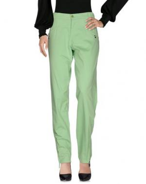 Повседневные брюки BIKKEMBERGS. Цвет: зеленый