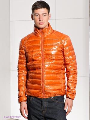 Пуховик Baon. Цвет: оранжевый